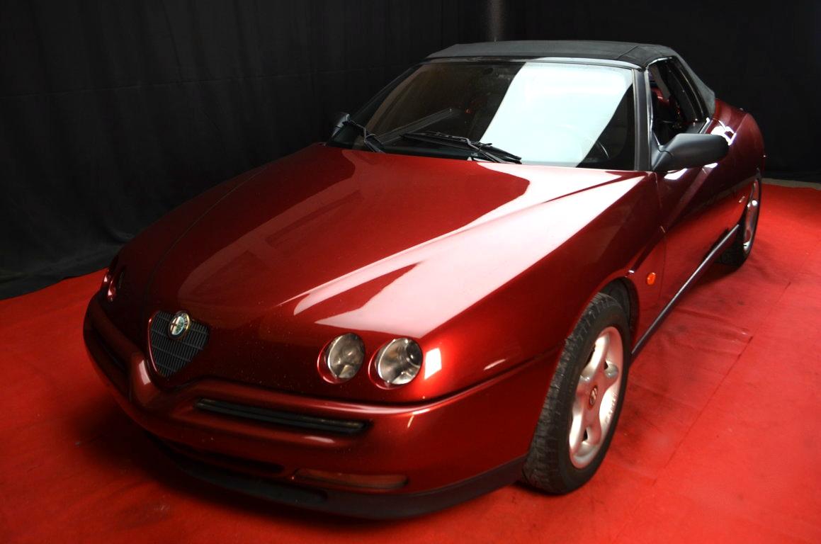 Alfa Romeo Spider 916 bordeaux - ClassicheAuto 18