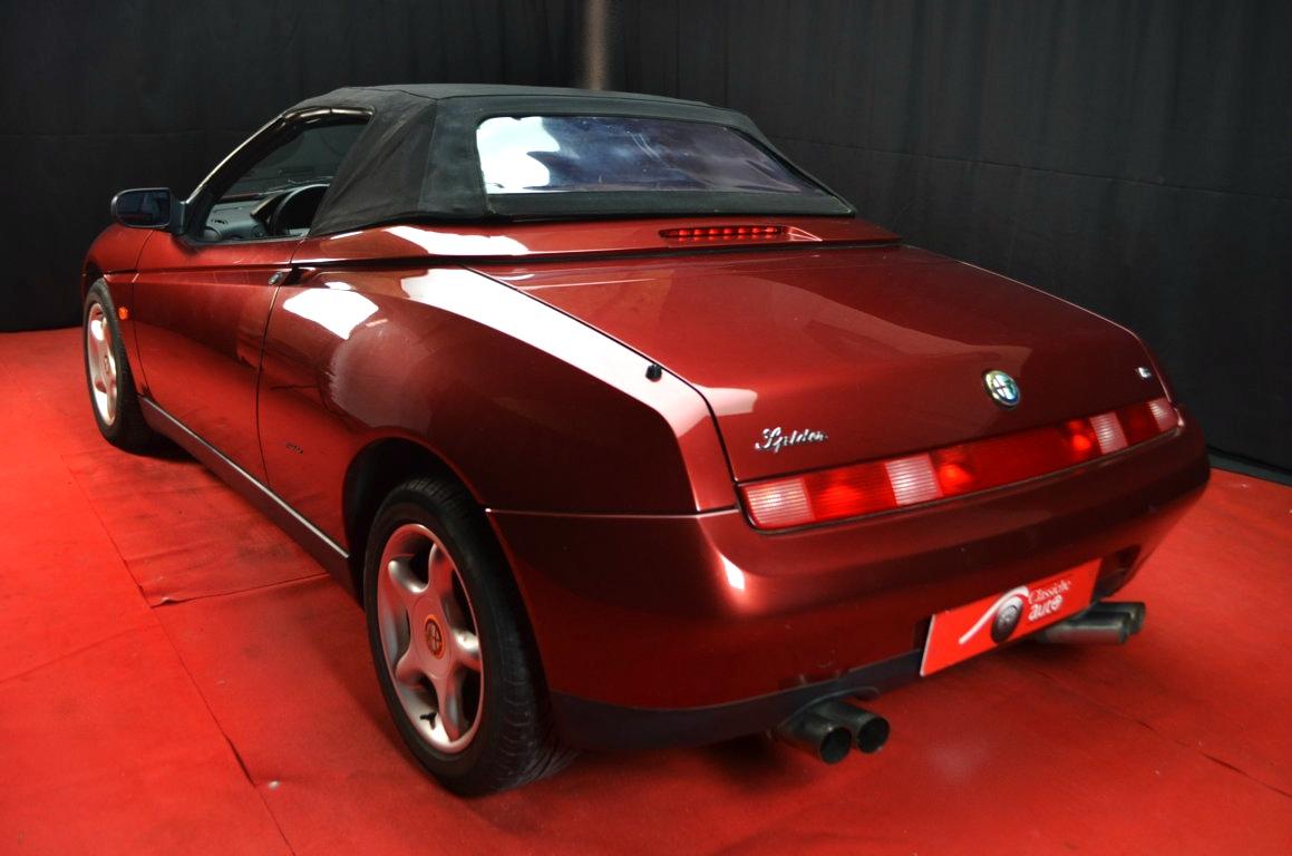 Alfa Romeo Spider 916 bordeaux - ClassicheAuto 22