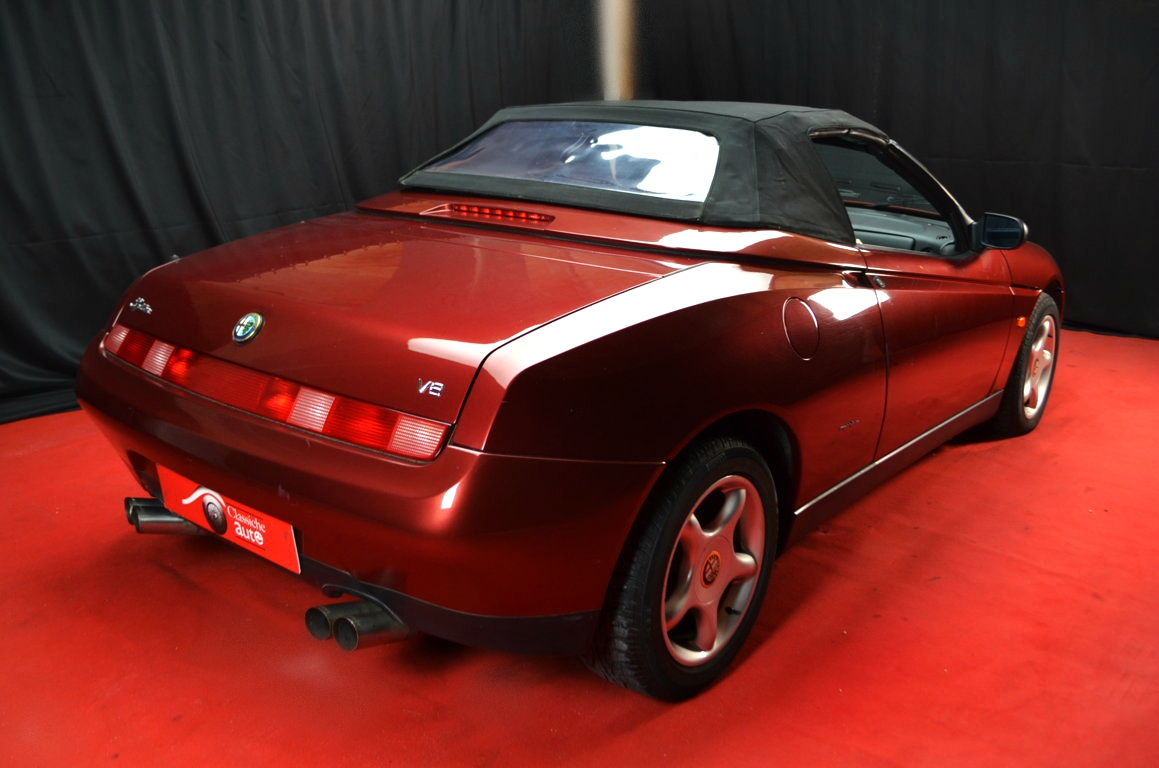 Alfa Romeo Spider 916 bordeaux - ClassicheAuto 27