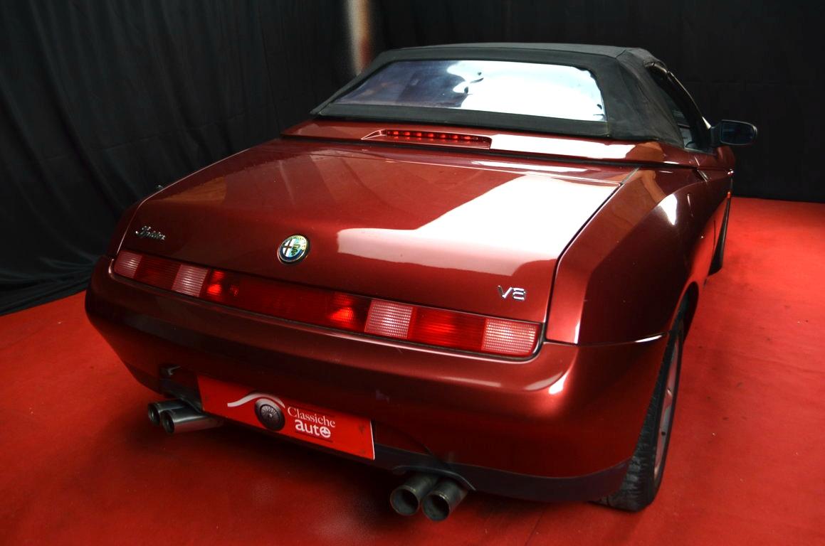 Alfa Romeo Spider 916 bordeaux - ClassicheAuto 28