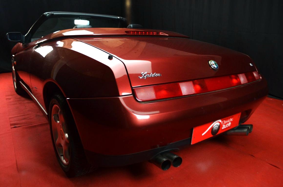 Alfa Romeo Spider 916 bordeaux - ClassicheAuto 9