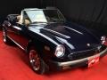 Fiat 124 Spider blu 2.0 cc - Classicheauto 19
