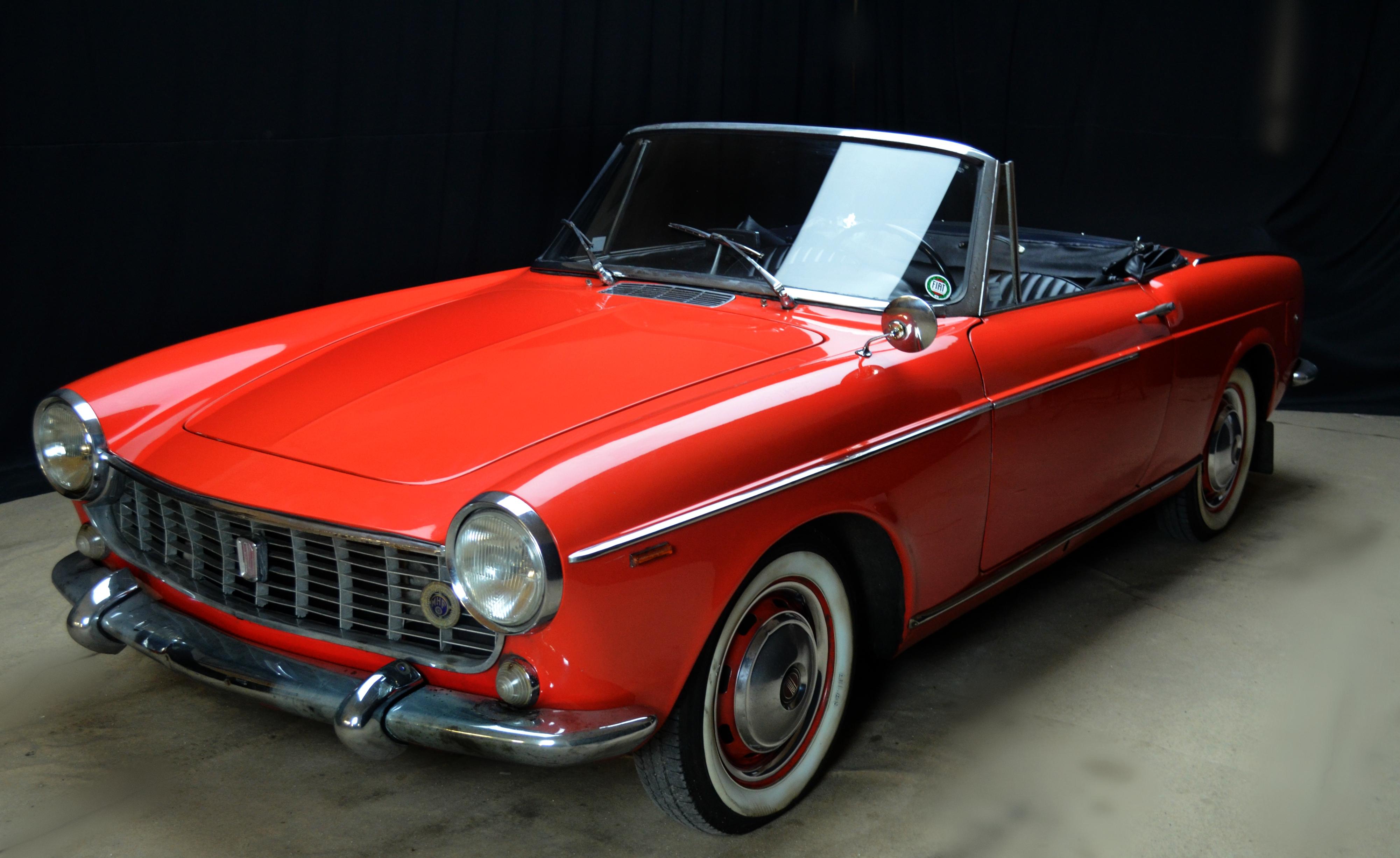 fiat 1500 cabriolet anno 1964 certificata asi autoclassiche. Black Bedroom Furniture Sets. Home Design Ideas