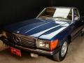 Mercedes 350 SL blu - ClassicheAuto 1