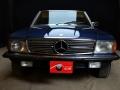 Mercedes 350 SL blu - ClassicheAuto 11
