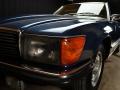 Mercedes 350 SL blu - ClassicheAuto 6