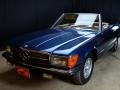 Mercedes 350 SL blu - ClassicheAuto 8