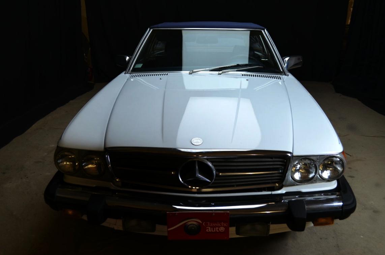 Mercedes 560 SL bianco - ClassicheAuto 6