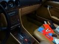 Mercedes 560 SL nero - ClassicheAuto 6